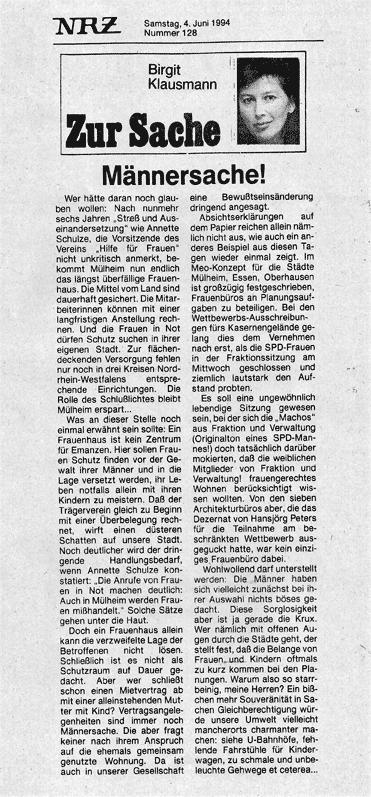 1994-Männersache
