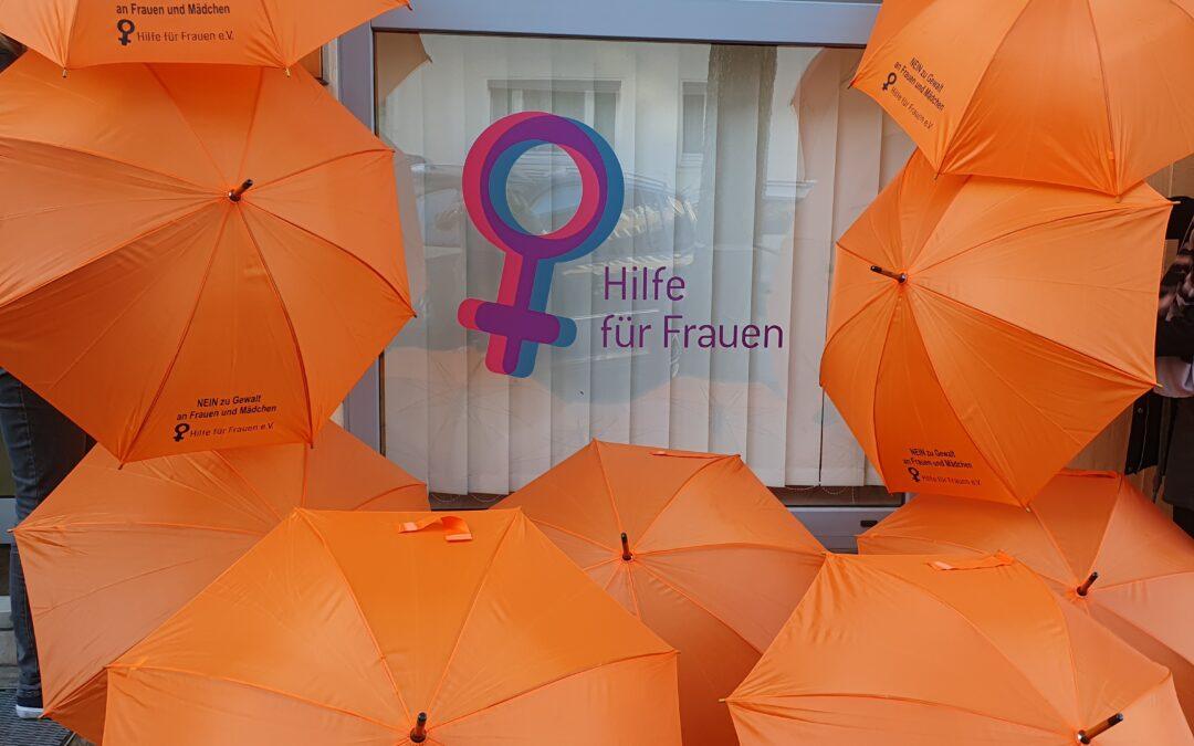 Jetzt aktiv werden gegen Gewalt an Frauen und Mädchen – mitmachen und ein orangefarbenes Zeichen setzen!
